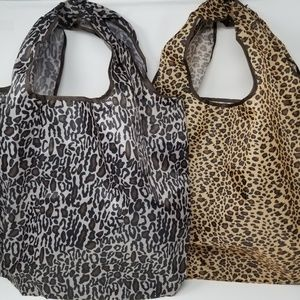 Handbags - Tote Shopping Utility Bag Foldable Washable Nylon